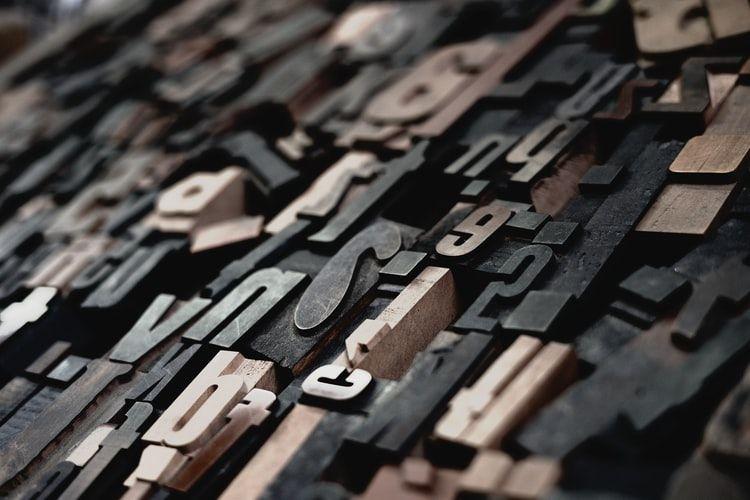 litery, jak uczyć się słówek z liter